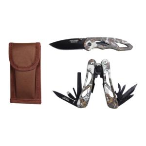 Camo Multi Tool And Knife Set