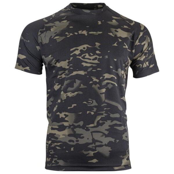 Mesh-Tech T-Shirt V-Cam Black