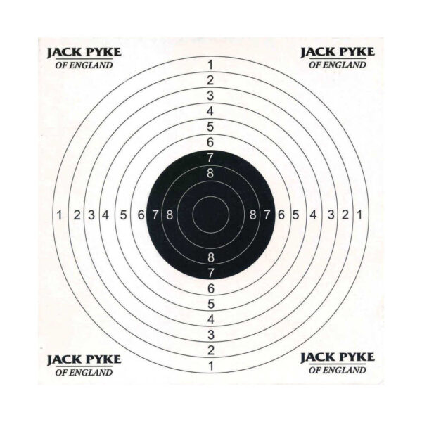 Cardboard targets 14x14 cm